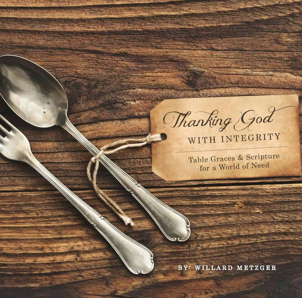 Review and Giveaway: Thanking God with Integrity
